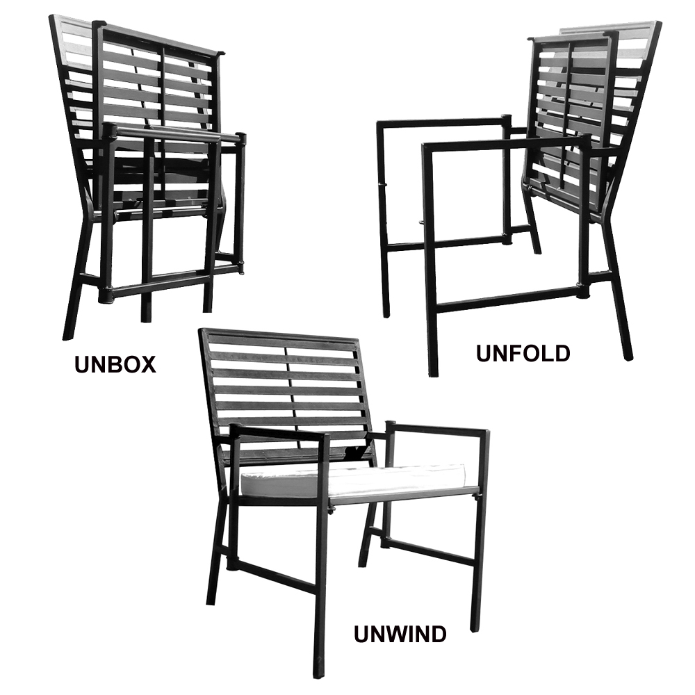 How to choose patio furniture for small spaces best for Best dining sets for small spaces
