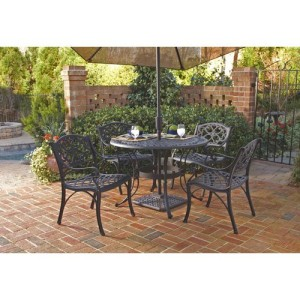 Home Styles Biscayne 5-Piece Patio Dining Set